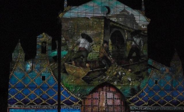 El espectáculo 'Lux Mondas', luz y sonido del arte talaverano (VIDEO)