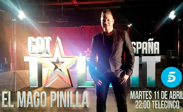 El talaverano Mago Pinilla vuelve a Got Talent en una gala especial