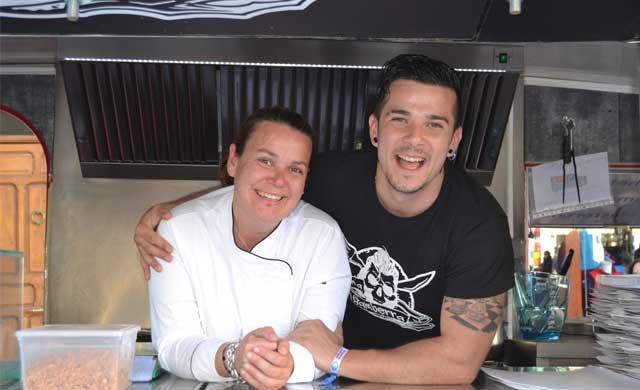 Maldonado vuelve con su `food truck' a las Mondas (VÍDEO)