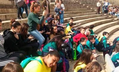 El Ruiz de Luna clausura su Semana Cultural con una carrera solidaria