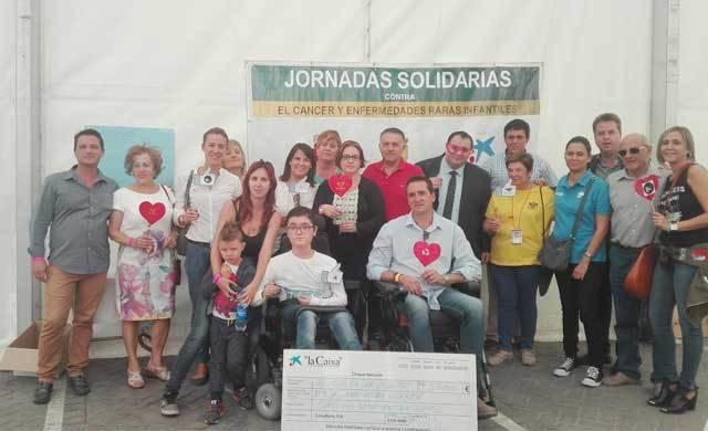 Éxito de las II Jornadas Solidarias de El Real de San Vicente a favor de ASEM