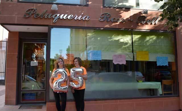 La peluquería Ross-Bell, referente en Talavera, cumple 25 años