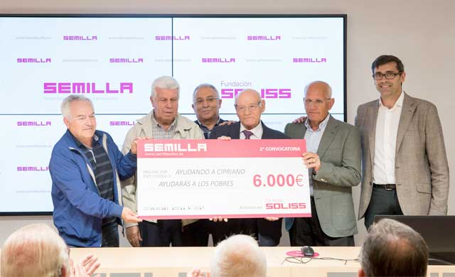 La Fundación Soliss entrega los II Premios Semilla