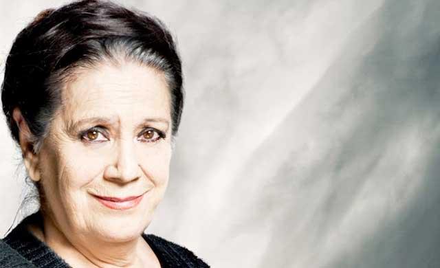 La actriz Terele Pávez, muy ligada a Talavera, nombrada 'Hija Adoptiva de Castilla-la Mancha'