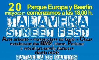 La plataforma ciudadana Vivimos Talavera organiza el festival 'Street Fest'