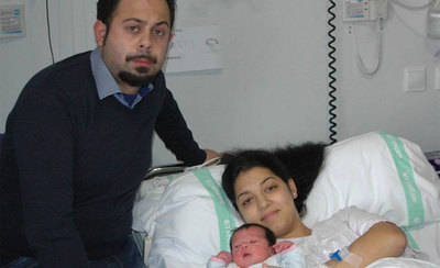 Elena, primer bebé nacido en el Hospital de Talavera en 2017