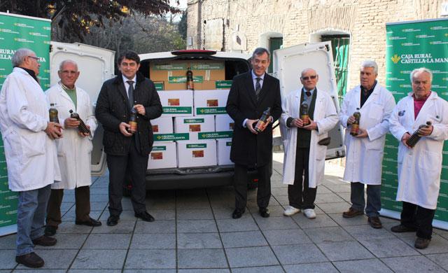 Cipriano repartirá 38.000 kilos de comida en Toledo el 19 de enero
