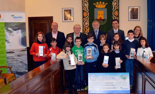 El Concurso de Dibujo de Aqualia premia a 13 alumnos talaveranos