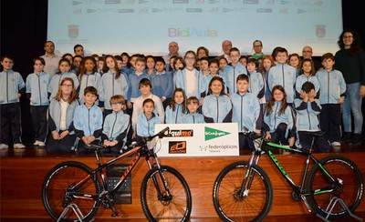 'BiciAula David Arroyo' espera alcanzar los 1.500 escolares