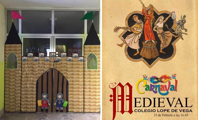 El colegio Lope de Vega organiza un Carnaval de la historia de Talavera