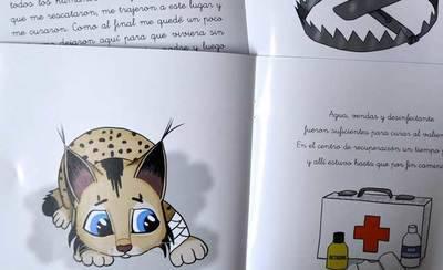 La Diputación publica dos cuentos infantiles sobre el lince ibérico