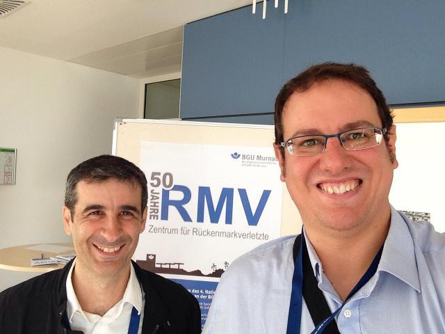 Dos investigadores de Parapléjicos, ponentes en el foro científico internacional de la lesión medular celebrado en Alemania