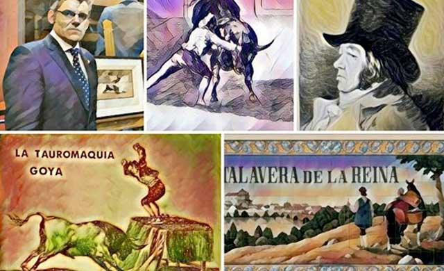 'La Tauromaquia de Goya' se podrá disfrutar durante un mes en Talavera