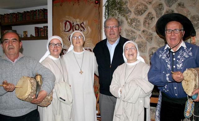 José María Gómez y sus pastores de Parrillas, en el Monasterio de la Conversión