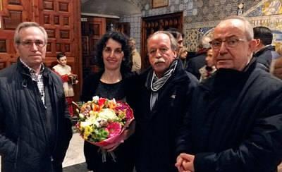 Lola de los Ríos inaugura el órgano de la Basílica del Prado