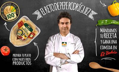 El chef Pepe Rodríguez te reta a cocinar con pollo ¿Te atreves?