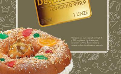 El Corte Inglés esconde 251 lingotes de oro en sus roscones de Reyes