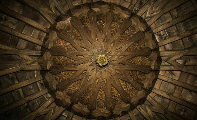 La iglesia San Andrés de Talavera recupera su artesonado del s. XVI