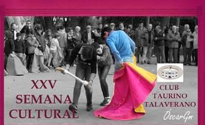 En marcha la XXV Semana Cultural del Club Taurino Talaverano