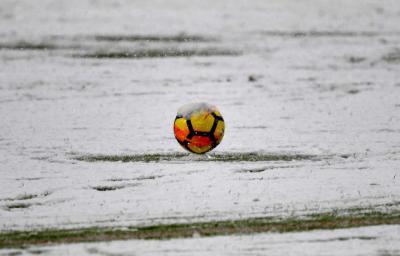 FÚTBOL | La borrasca Filomena puede suspender los partidos de la próxima jornada