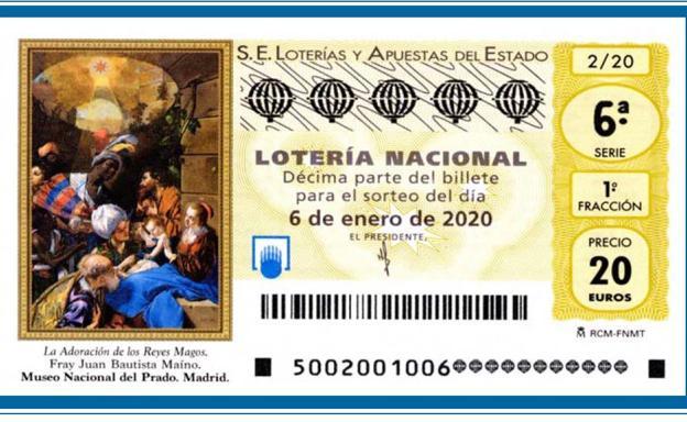 57342: primer premio de la Lotería de 'El Niño' cae en la provincia de Toledo
