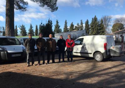 CLM entrega cuatro nuevos vehículos a las Oficinas Comarcarles Agrarias de la provincia de Toledo