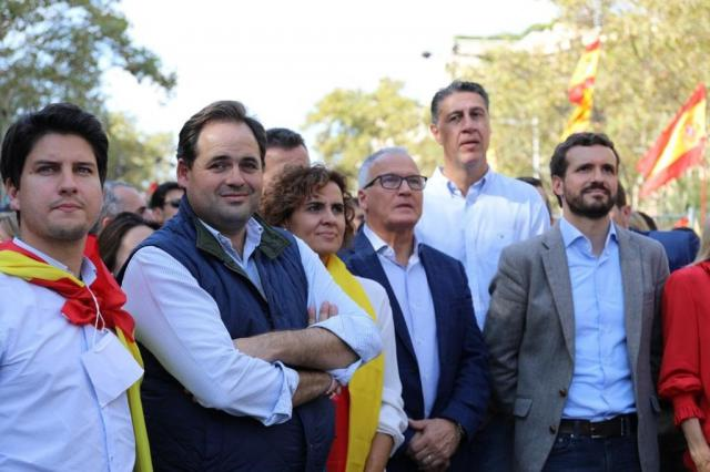 Núñez afea a Page que no haya acudido a Barcelona a la manifestación convocada por SCC en contra del 'procés'