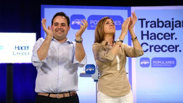Paco Núñez y María Dolores de Cospedal
