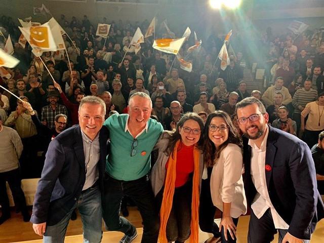 La candidata de Compromís a la Presidencia de la Generalitat quiere el agua de la región