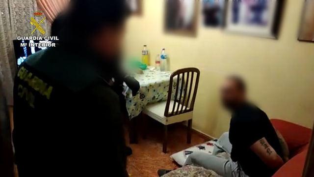 La Guardia Civil ha detenido a dos hombres por un delito de homicidio doloso