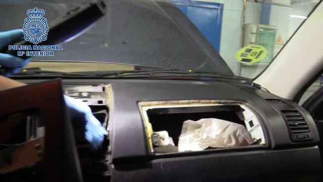 SESEÑA | Cae una banda que usaba coches 'caleteados' para transportar droga
