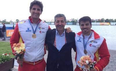 Francisco Cubelos va de dos en dos: oro en Belgrado