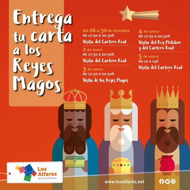¡Entrega tu carta para los Reyes Magos en Los Alfares!
