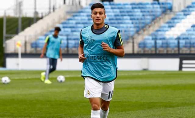 Óscar Rodríguez, la joya de la cantera del Real Madrid, es de Los Navalmorales