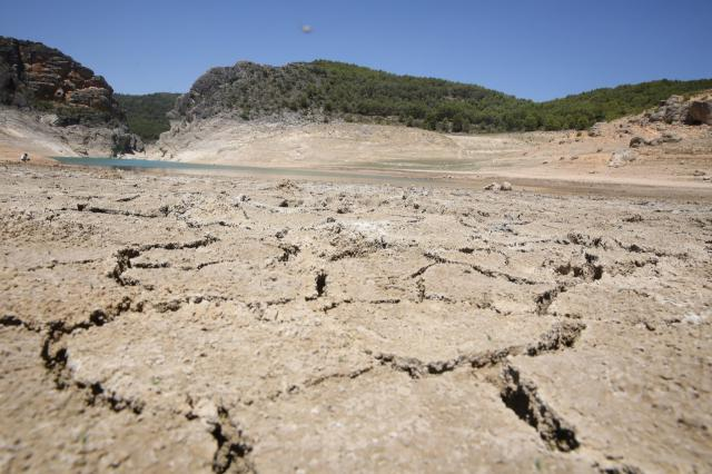 El pantano de Entrepeñas en Sacedón