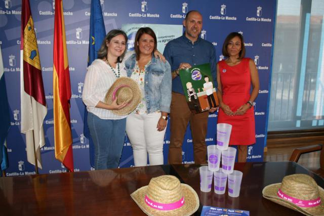 La campaña contra la violación en cita 'Sin un sí es no' llega a Talavera