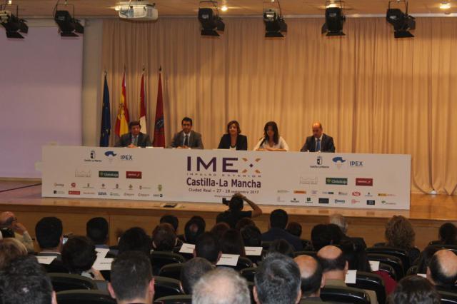 Más de mil profesionales se dan cita en la II edición de IMEX en Castilla- La Mancha que se celebra en Ciudad Real