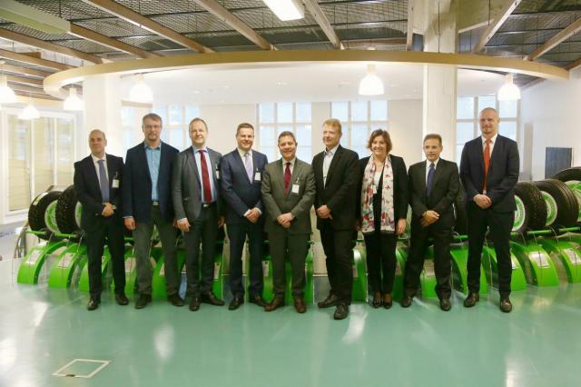 Page visita en Finlandia la empresa Nokian Tyres, que creará un Centro de Investigación de neumáticos en Toledo