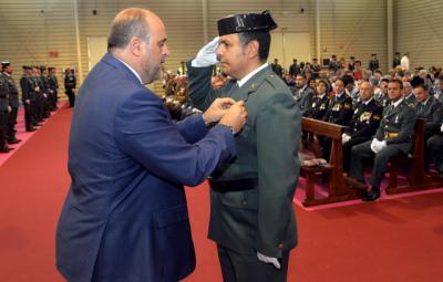 """Martínez Guijarro agradece la labor de la Guardia Civil """"sobre todo en los tiempos que corren"""""""
