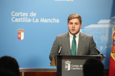 El portavoz el Gobierno de Castilla-La Mancha, Nacho Hernando