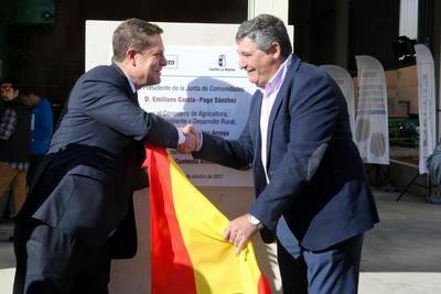 Inauguración de la nueva planta de  Avicon en Consuegra (Toledo)