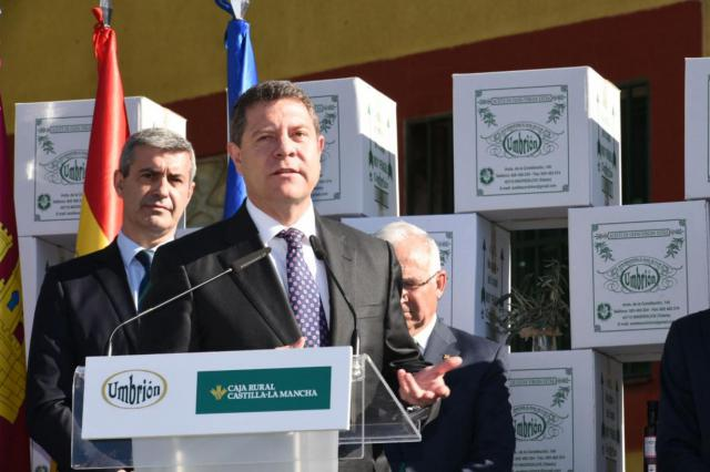 """Page reclama a Rajoy que """"el agua del Tajo se quede en el Tajo"""" por encima de compensaciones económicas"""