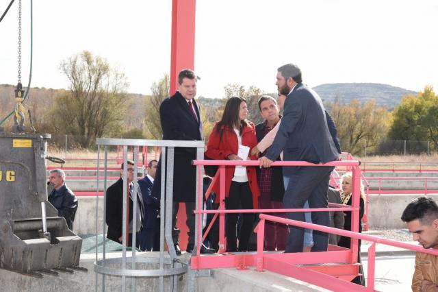 Inauguración de la Estación Depuradora de Aguas Residuales de Torrejón del Rey-Galápagos