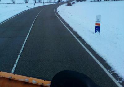 La Junta ha actuado en 3.200 km de carreteras para hacer frente al temporal de nieve