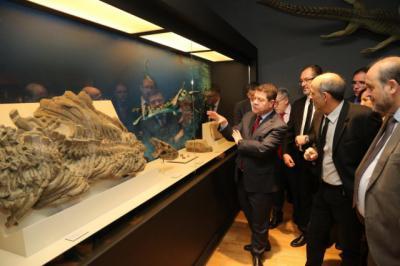 La Junta creará el Centro de Investigación sobre Paleontología