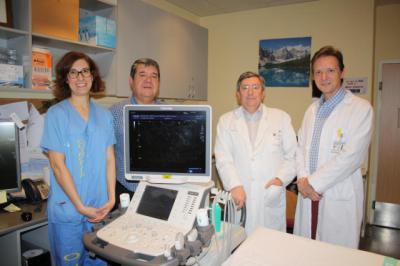 La Junta dota al servicio de Radiodiagnóstico del Complejo Hospitalario de Toledo de un ecógrafo de última generación