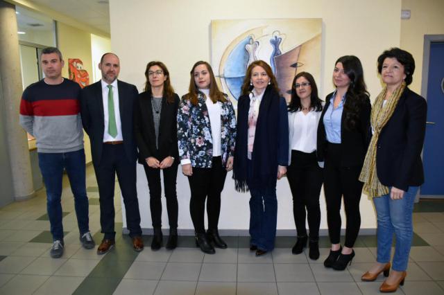 La consejera de Bienestar Social, Aurelia Sánchez, visita el Punto de Encuentro Familiar de Talavera de la Reina