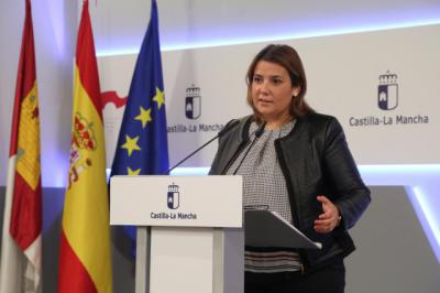 La consejera de Fomento Agustina García Élez