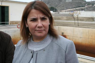 La consejera de Fomento, Agustina García Élez