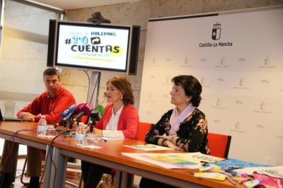 La consejera de Bienestar Social, Aurelia Sánchez, presenta la campaña regional '#TúCuentas 2018'